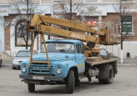 Автоподъёмник P-183 на шасси ЗиЛ-130Г #Х 148 КХ 45. Курган, улица Гоголя