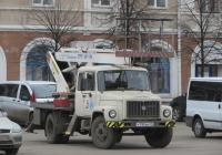 Автоподъёмник АПТ-17М на шасси ГАЗ-3307 #У 795 ВК 45. Курган, улица Гоголя
