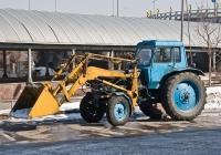 Фронтальный погрузчик ПКУ-0,8 на базе трактора МТЗ-80* #A 463 AHD. Алматы, улица Саина