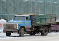 Самосвал ГАЗ-САЗ-3507 на шасси ГАЗ-53-14 #У 731 КТ 45. Курган, улица Куйбышева