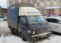 Автомобиль Hyundai Porter H100 #У 652 ЕК 45. Курган, улица Куйбышева