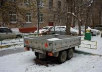 Автомобильный прицеп Тонар-8310 #АУ 5340 50 . Москва, бульвар Матроса Железняка