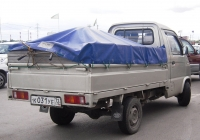 Бортовой грузовик FAW CA1011 #К 031 УЕ 72. Тюмень, Алебашевская улица