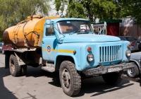 Автоцистерна для пищевых жидкостей на шасси ГАЗ-53-12. Самара, улица Ульяновская