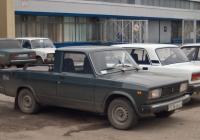Пикап на базе ВАЗ-2105 для внутризаводских перевозок по территории ОАО АвтоВАЗ. Тольятти, старый конвейер ОАО АвтоВАЗ