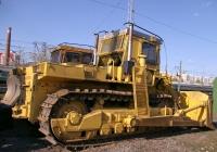 Бульдозерно-рыхлительный агрегат на базе трактора Т-330. Самара, локомотивное депо, место отстоя восстановительного поезда