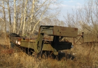 Полуприцеп-тяжеловоз. Алтайский край, Барнаул, посёлок Затон