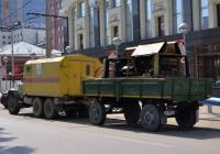 Прицеп ГКБ-817 #АР 4287 66 в составе автопоезда. Екатеринбург, улица Розы Люксембург
