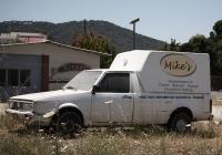 Фургон Volkswagen Caddy. Греческая республика, остров Родос