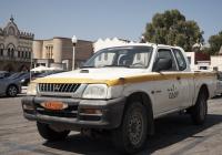 Пикап Mitsubishi L200 #KHY-1239. Греческая республика, остров Родос