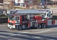 Пожарный автопоъемник Bronto Skylift F54 HDT на шасси Mercedes-Benz Actros 3331 #803 KP 02. Алматы, улица Саина