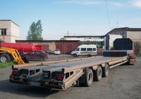 Полуприцеп-тяжеловоз #АУ 9797 72 в составе автопоезда. Свердловская область, Луговской