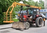 Подъёмник монтажный специальный ОПТ-9195 на базе трактора ЮМЗ-6*. Алматы, улица Айриха