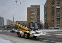 Снегопогрузчик ДОРМАШ СНП-17. Москва, Савёловская развязка