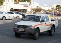 Пикап Mitsubishi L200. Кипрская респулика, муниципалитет Айя-Напа, Пернера