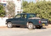 Пикап Toyota. Республика Кипр, муниципалитет Айя-Напа, Паралимни