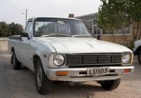 Пикап Datsun 1500 Pickup. Кипрская респулика, муниципалитет Никосия, Коккинотримия