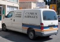 Фургон Toyota HiAce. Кипрская респулика, Ларнака