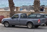 Пикап Ford Ranger. Греческая республика, остров Крит, Муниципалитет Ираклион, Аналипси