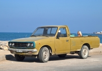 Пикап Toyota Hilux. Греческая республика, остров Крит, Муниципалитет Ираклион, Ираклион