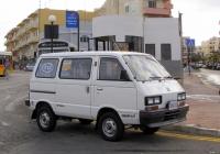 Минибус Subaru E10 #AAA 212. Мальта, Буджибба