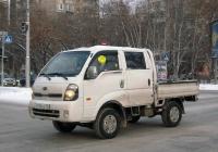 Бортовой грузовик KIA Bongo III #Р 076 КХ 72. Тюмень, Северная улица