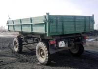 Тракторный прицеп типа 2ПТС-4 #СХ 8170. Свердловская область, Луговской, Тугулымская улица