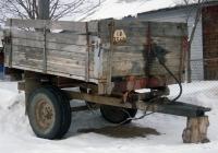 Тракторный прицеп #СШ 3340. Свердловская область, Луговской, Озерная улица