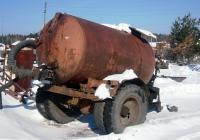 Тракторный ассенизационный прицеп #СШ 8171. Свердловская область, Луговской