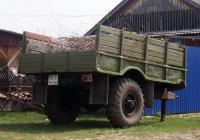 Тракторный прицеп на базе агрегатов автомобиля ГАЗ-66 #2572 СМ 66. Свердловская область, Луговской