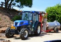 """Трактор New Holland T4-85F #66-032-63. Израиль, Зихрон-Яаков, винодельня """"Тишби"""""""