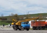 Автокран КС-3562Б на шасси МАЗ-5334. Курская область, Мантуровский район, с. 2-е Засеймье