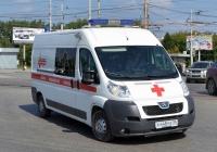 Автомобиль скорой медицинской помощи на базе Peugeot Boxer #Х 448 РЕ 96. Екатеринбург, проспект Космонавтов
