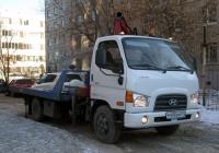 Эвакуатор-манипулятор на базе Hyundai HD78 #Р 490 ОМ 174 . Тюмень, улица 50 лет Октября