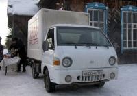 Фургон на базе Hyundai Porter #А 600 МК 196 . Свердловская область, Луговской, Клубная улица