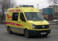 Автомобиль скорой медицинской помощи на базе Volkswagen Crafter #А 984 ХХ 196. Екатеринбург