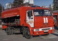 Автомобиль газового тушения АГТ-1(43253) на шасси КамАЗ-43253. Самара, площадь имени В. В. Куйбышева