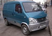 Цельнометаллический фургон FAW CA1010 #К 725 ХХ 72. Тюмень, улица Республики