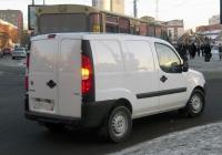 Цельнометаллический фургон FIAT Doblo #М 300 СХ 72. Тюмень, улица Орджоникидзе