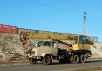 Автокран КС-4574 на шасси КрАЗ-250К # М 477 МЕ 31. Белгородская область, г. Алексеевка, улица Чапаева