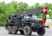 Автокран КС-3574М3 на шасси автомобиля Урал. Белгородская область, г. Алексеевка, улица Тимирязева