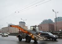 Снегопогрузчик ДОРМАШ СНП-17. Москва, Ленинградский проспект
