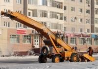 Снегопогрузчик ТКМ-237. Якутск, улица Петровского
