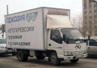 Фургон на шасси JMC 1043 #В 400 ТР 72. Тюмень, улица 50 лет Октября