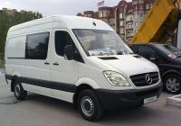 Грузопассажирский фургон Mercedes-Benz Sprinter #Е 094 ХА 96. Тюмень, Севастопольская улица