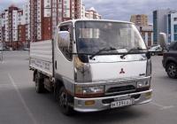 Грузовой автомобиль Mitsubishi Canter #М 139 ЕА 72. Тюмень, улица Валерии Гнаровской