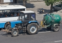 Машина универсальная РЖТ-3 на базе трактора Беларус-80.1 #A 027 AED. Алматы, проспект Раимбека