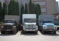 Автофургоны на шасси ЗиЛ-130/433110. Самара, улица Ульяновская