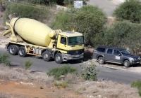 Бетоносмеситель на шасси Mersedes-Benz Actros 4140. Республика Кипр, Республика Кипр, муниципалитет Айя-Напа, Пернера