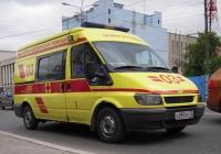 Автомобиль скорой медицинской помощи на базе Ford Transit Mk6 #Е 880 КР 72 . Тюмень, улица Челюскинцев